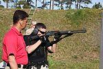 'Going Hot' PMO shotgun, pistol, pepper spray training on target 130411-M-EY704-301.jpg