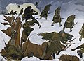 'over the Top'. 1st Artists' Rifles at Marcoing, 30th December 1917 Art.IWMART1656.jpg