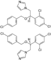 (±)-Econazole Structural Formulae of both enantiomers.png