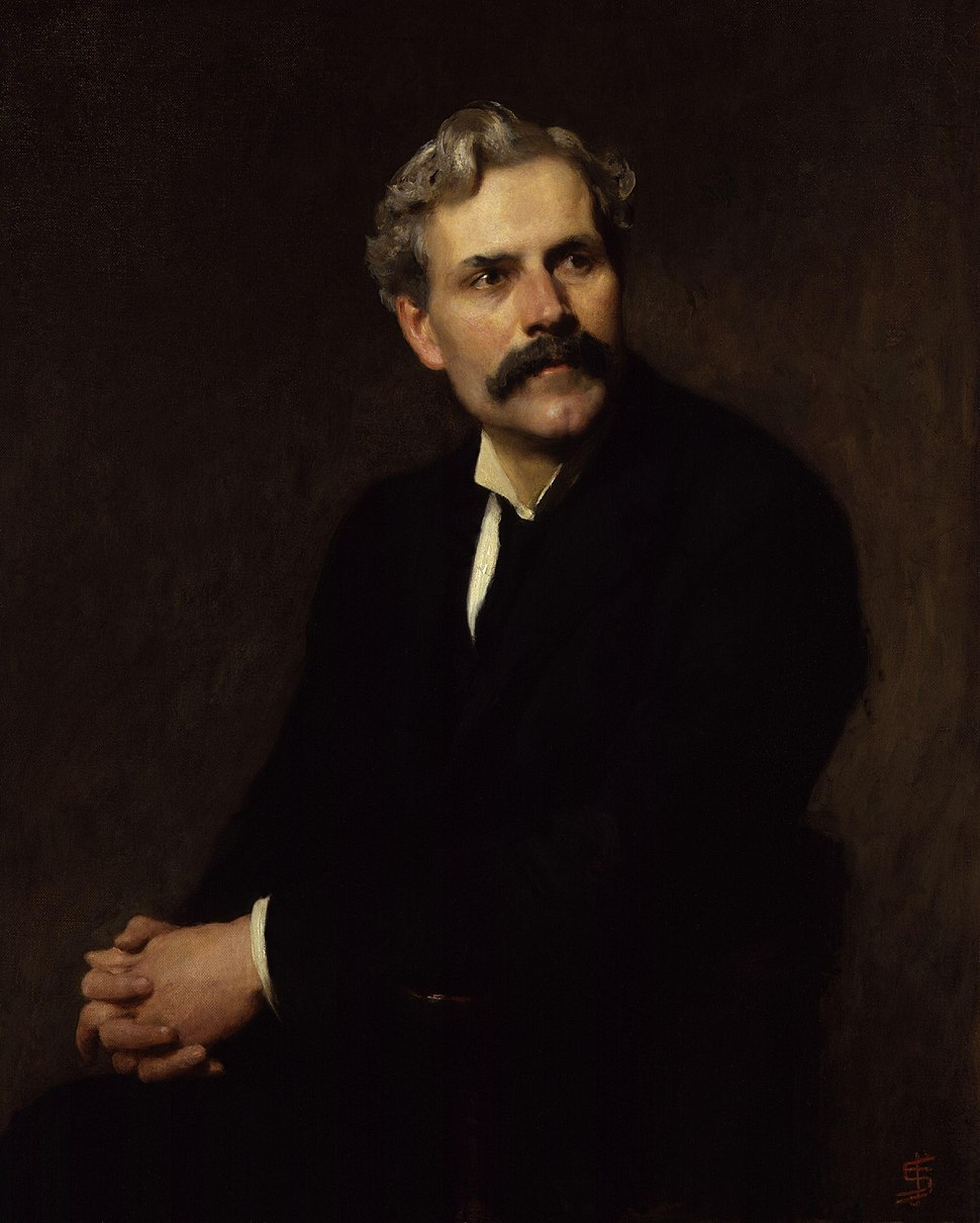 (James) Ramsay MacDonald by Solomon Joseph Solomon