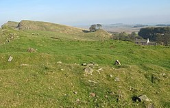 (The site of) Milecastle 45 - geograph.org.uk - 578487.jpg
