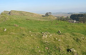Milecastle 45 - The site of Milecastle 45