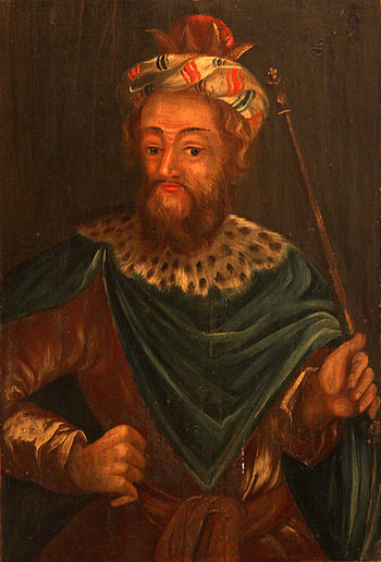 King Josiah on a 17th century painting by unkn...