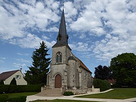 Église Saint-Laurent Villeneuve-Saint-Nicolas Eure-et-Loir France.jpg