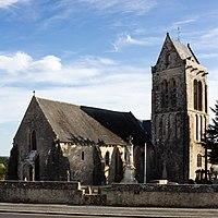 Église saint Marcouf, Saint-Marcouf, France.jpg