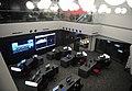"""İlham Əliyev """"Azərspace-1"""" telekommunikasiya peykinin orbitə buraxılması prosesini izləyərkən 08.jpg"""