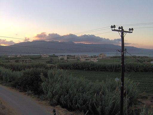 Θέα απο το χωριό Καμισιανά Χανίων