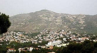 Penteli, Greece - Image: Πανοραμική Νέας Πεντέλης