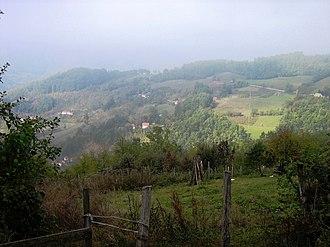 Godečevo - Image: Годечево поглед из Варде Godečevo pogled iz Varde