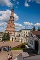 Казанский Кремль, наклонная башня Сююмбике, наклон 1,8 метра.jpg