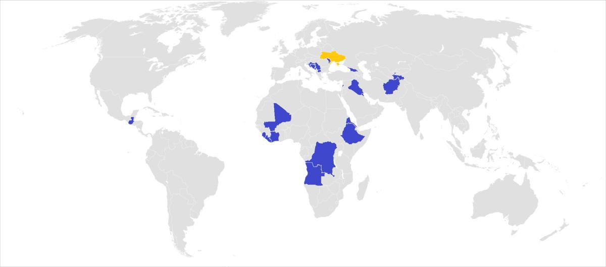 """Результат пошуку зображень за запитом """"1992 Боснія українські військові миротворці"""""""