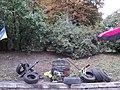 Місце бойових дій та масової загибелі громадян в районі вул. Грушевського у м. Києві під час акцій протесту у лютому 2014 року 05.jpg