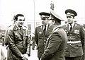Тиргартен 1983. Муслим Магамаев, Линде, А.Дорофеев, А.Денисов на возложении..jpg