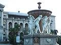 Фонтан санатория Орджоникидзе, скульптурная группа фонтана, Курортный просп., 96, Хостинский район, Сочи, Краснодарский край.jpg