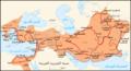 إمبراطورية الإسكندر الأكبر ودروب حملاته.png