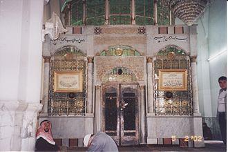 Khalid ibn al-Walid - Khalid's tomb