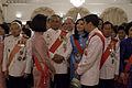 นายกรัฐมนตรีและภริยากล่าวถวายพระพรชัยมงคลเนื่องในวันฉั - Flickr - Abhisit Vejjajiva (44).jpg