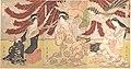 「丁子屋畧見世」-The Chōjiya Pleasure House by Day (Chōjiya hiru-mise) MET DP145691.jpg