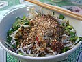 凉米线 Rice Noodles with Cold Spicy Garlic Sauce and Peanuts - Laomeng Market (2372533413).jpg