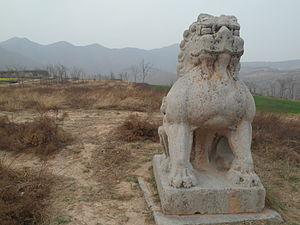 Emperor Dezong of Tang - Chongling (崇陵), tomb of Emperor Dezong, in Jingyang County, Shaanxi