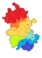 安徽分区地图 (with numbers).png