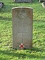 -2020-12-28 CWGC gravestone, Lance corporal C. W. Jackman, Corps of Military Police, Cromer town cemetery.JPG