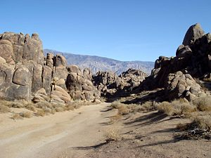 Alabama Hills - This narrow valley doubled as the Khyber Pass in the 1939 epic Gunga Din