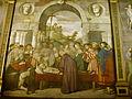 02 Francesco Vecellio (attribuzione), Sant'Antonio fa trovare il cuore dell'usuraio nel forziere.JPG