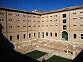 036 Sant Miquel dels Reis (València), pati nord, angle nord-oest, des de la galeria alta.jpg