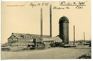 Potlatch, Idaho - Potlatch Mill (1906)