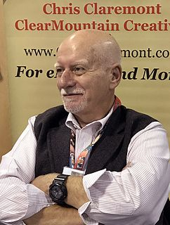 Chris Claremont American comic book writer and novelist, known for creating numerous X-Men characters