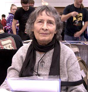 Ramona Fradon - Fradon at the New York Comic Con in Manhattan, October 9, 2010