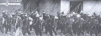 Conservative troops during the Thousand Days. 1000tropas.jpg