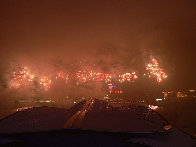 Chinese New Year, Hong Kong By User:KC Kong (Own work) [Public domain], via Wikimedia Commons