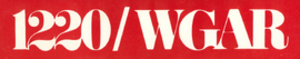 WHKW - 1970s station logo as WGAR