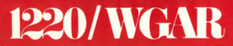 WHKW - 1970s station logo as WGAR