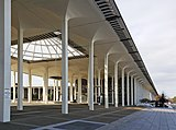 A Colonnade, The State University of Nueva York, Albany, NY (1962)