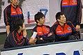 130309 Vプレミアリーグ男子有明大会 1日目 (7) - 加賀龍哉, 高橋駿, 西尾太作.jpg
