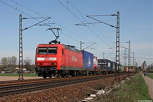 DB Cargo Güterzug
