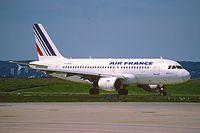 F-GRHB - A319 - Air France