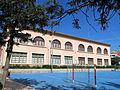 148 Escoles Salvador Lluch (Gavà), edifici nord, vist del del c. Montserrat.JPG