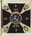 1783 Hessen-Kassel army - Fusilier Regiment von Knyphausen - banner.JPG