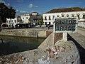 18-11-2010, River sign on Roman Bridge, Silves.JPG