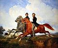 1851 Krueger Zwei Reiter im Galopp anagoria.JPG
