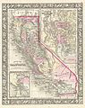 1866 Mitchell Map of California - Geographicus - California-mitchell-1866.jpg