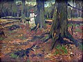1882 van Gogh Girl in a Wood anagoria.JPG