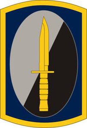 188th Infantry Brigade (United States) - 188th Infantry Brigade shoulder sleeve insignia