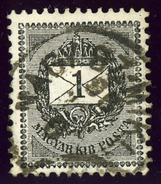 Sânnicolau Mare - Kingdom of Hungary, cancelled at NAGY SZ-MIKLOS in 1895