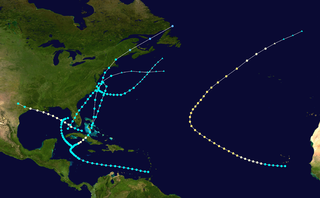 1897 Atlantic hurricane season hurricane season in the Atlantic Ocean