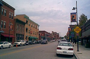 18th and Vine-Downtown East, Kansas City - Image: 18thstreet